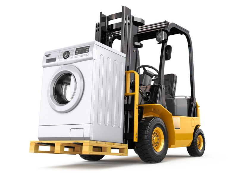 safe transportation, leakage, item, pallet, palletised, palletised goos, hazard, washing machine, large item, bulky item